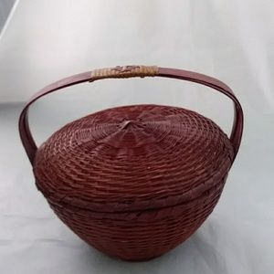 Other - Woven Basket Vintage 1940-50's Jewelry